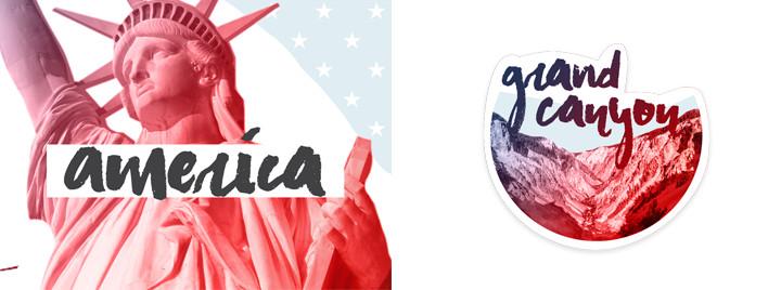 America iMsg Sticker Pack