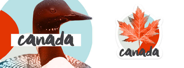 Canada iMsg Sticker Pack