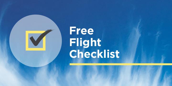 free flight checklist