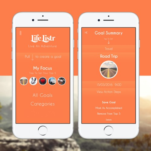 Life Listr App