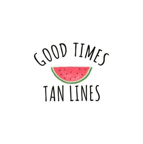 Good Times Tan Lines