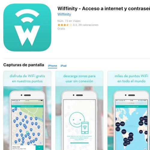 Wiffinity wifi app
