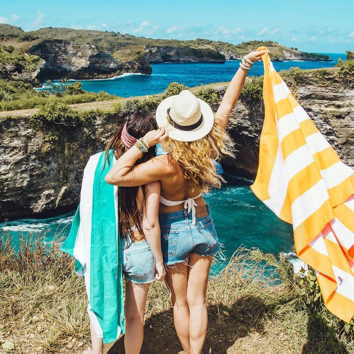 Beach travel towel