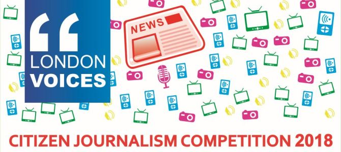 Journo Resources Delighted to Partner With London Voices Competition
