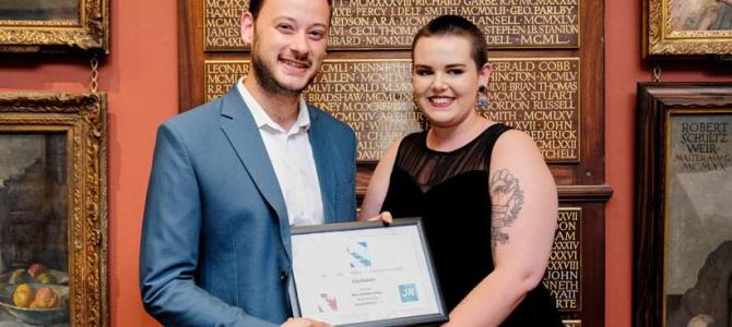Isla Russell Wins Journo Resources Award at London Voices Competition