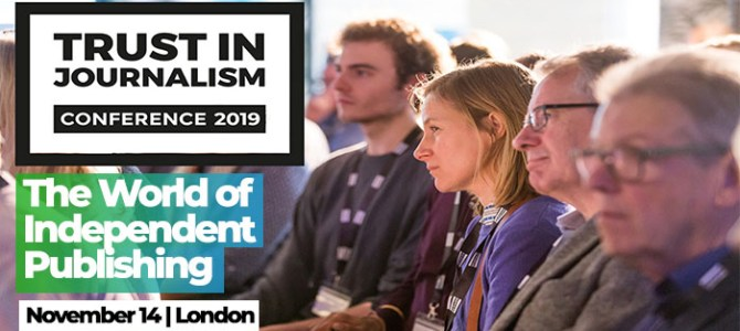30% Off Impress Trust In Journalism Conference For Journo Resources Followers