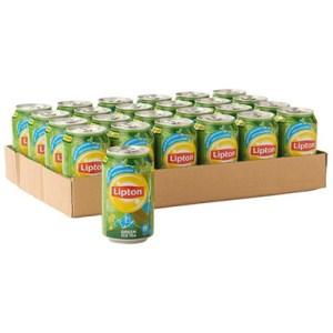 Lipton ice tea green blik 24x33cl.