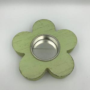 Waxinelichthouder bloemmodel