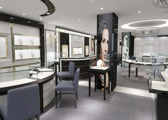 Jewellery Showroom Furniture Design