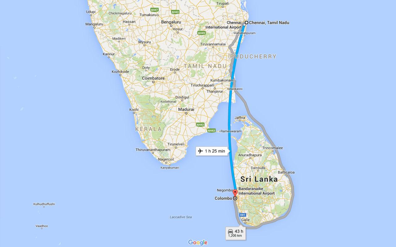 Sri Lanka – The Departure