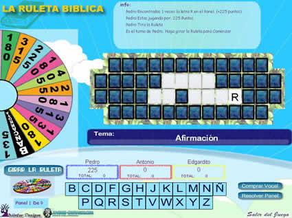 Ruleta Biblica