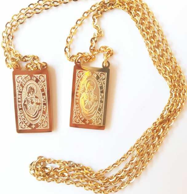 Escapulário Católico de Ouro é caro