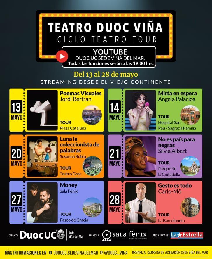 La Sala Fènix de Barcelona inicia un cicle global de teatre en streaming
