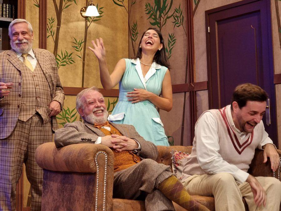 """Crítiques: """"La Teranyina"""" d'Agatha Christie per la Companyia del Teatre del Raval"""