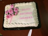 Susanna's Birthday Cake
