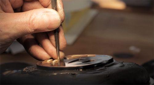 Ford Hallam - Tsuba metalwork detail