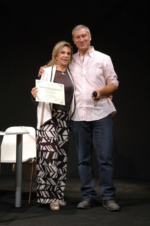 Entrega de Premios Concurso de Diseño de Joya de Autor AJA 2015 - Liane Katsuki y Rafael Alemáñ