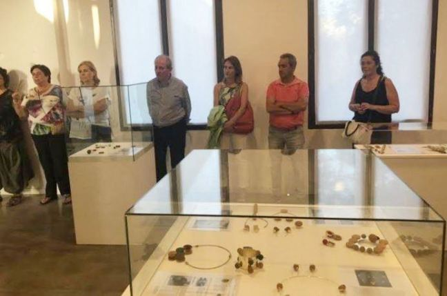 La Caja Misteriosa AJA 2019 - Inauguración exposición de joyería con corcho
