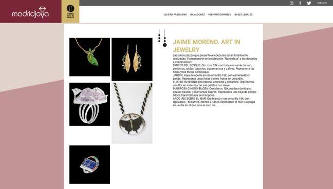 MadridJoya Designers - Colección Naturaleza por Jaime Moreno