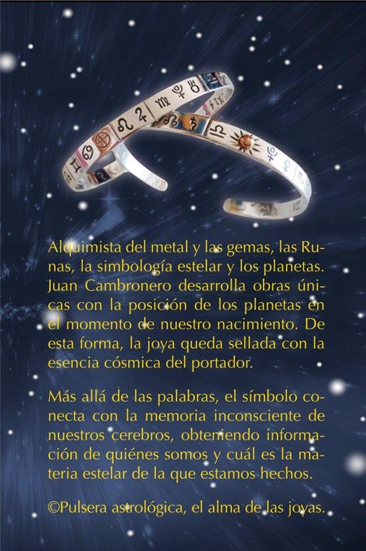Pulsera Astrológica