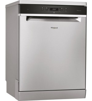 Whirlpool 6th Sense PowerClean Stainless Steel Dishwasher WFC 3c33 pf x uk