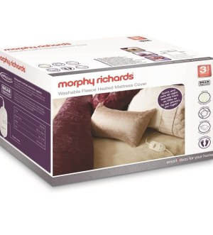 Morphy Richards SuperKing Dual Washable Fleece Heated Mattress Cover 620014