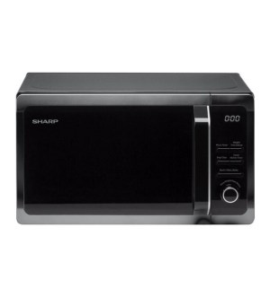 Sharp 800w 20 Litre Solo Black Microwave R274KM