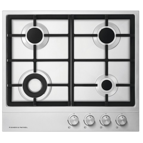 Fisher & Paykel 60cm Gas on Steel Hob CG604DLPX1