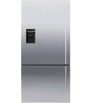Fisher & Paykel Fridge Freezer with Ice & Water E522BLXFDU4