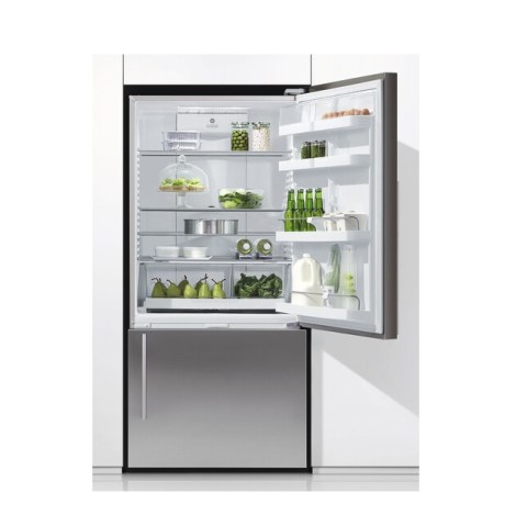 Fisher & Paykel ActiveSmart Fridge Freezer with bottom freezer with Ice & Water E522BRXFDU4