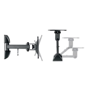 iTech Full Motion Single Arm Wall Bracket 13″ to 27″ LCD32B