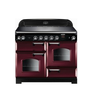 Rangemaster Classic Electric Range Cooker with Induction Hob 110cm