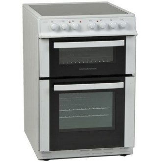 NordMende 60cm Electric Cooker with Ceramic Hob CTEC61WH