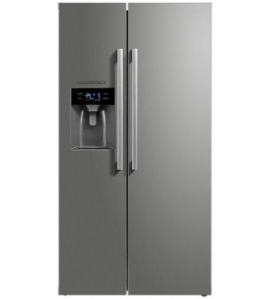 NordMende American No Frost Fridge Freezer with Plumbed Ice & Water RFAMIW491IXL