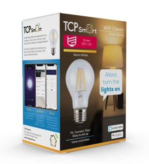 TCP Smart Wi-Fi Filament E27 LED Bulb