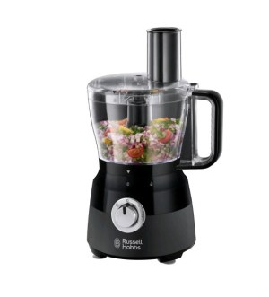 Russell Hobbs Desire Matte Black 600 Watt Food Processor 24732