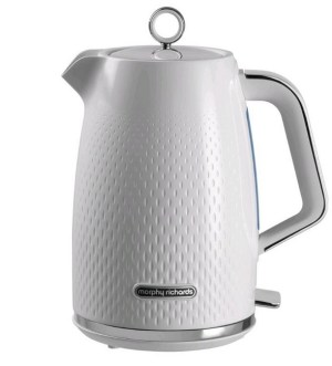 Morphy Richards Verve Textured Kettle 1.7 Litre | White | 103012