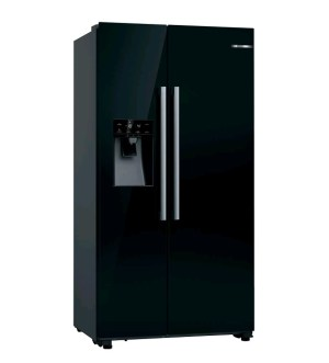 Bosch Serie | 6 American Side by Side Fridge Freezer Black KAD93VBFPG
