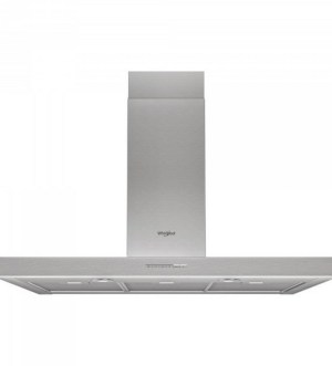 Whirlpool 90cm T-shaped Cooker Hood Stainless Steel | WHBS 93 F LE X
