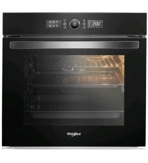 Whirlpool Built In Electric Oven Black AKZ9 6230 NB