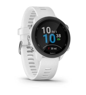 Garmin Forerunner 245 Music GPS Smartwatch | White | 010-02120-31