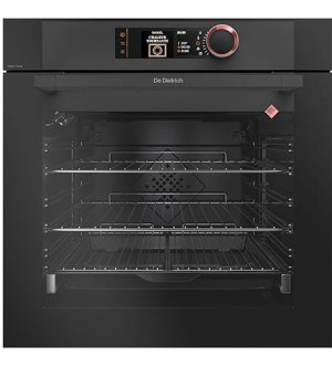 De Dietrich Built-In Single Oven with Pyrolytic Cleaning | Black | DOP8574A