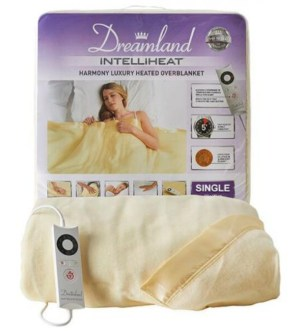 Dreamland Single Heated Over Blanket | 16704D