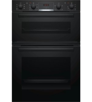 Bosch Serie 4 Built in Double Oven Black | MBS533BB0B