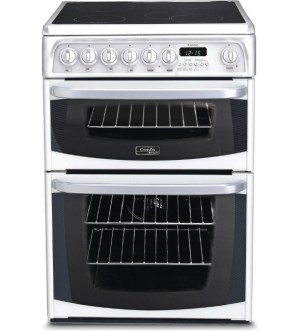 HOTPOINT 60cm ELECTRIC DOUBLE COOKER White | CH60EKW S