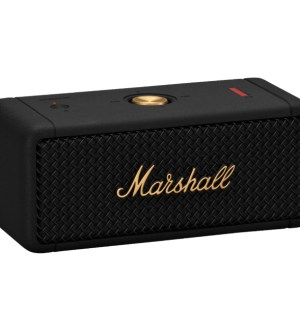 Marshall Emberton Portable Speaker Black & Brass | 1005696