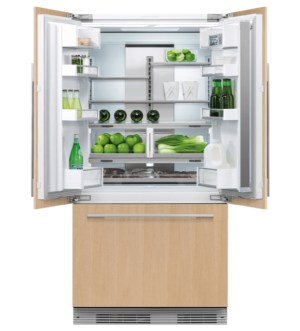 Fisher Paykel 90cm Built-in Fridge Freezer with French Doors   RS90A2