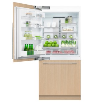 Fisher & Paykel 90cm Built-in Fridge Freezer with Ice Maker | Left Hinged | RS9120WLJ2