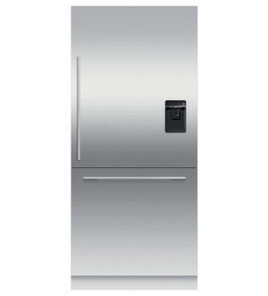 Fisher & Paykel  Series 7 90.6cm Semi-integrated Fridge Freezer with Ice & Water | Stainless Steel | RS9120WRU2