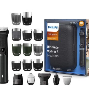 Philips Series 7000 18-in-1 Ultimate Multi Grooming Kit for Beard, Hair and Body with Nose Trimmer Attachment  | MG7785/20